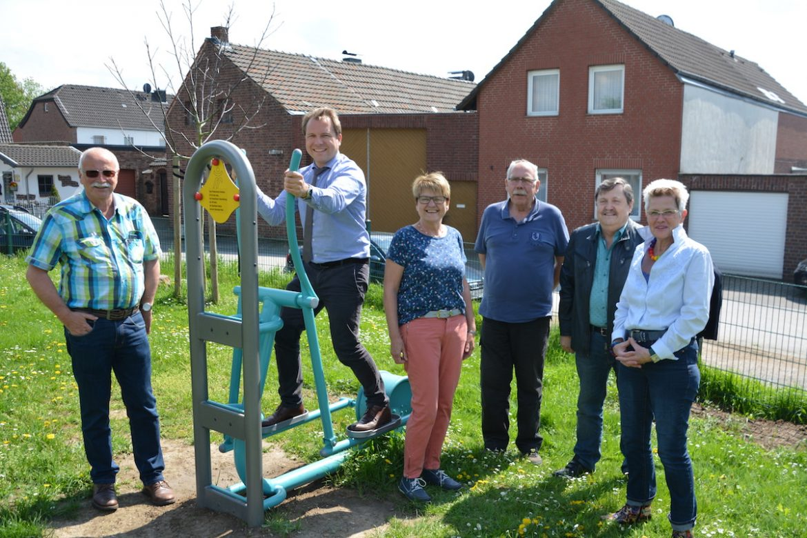 Neuer Outdoor - Crosstrainer in Vanikum